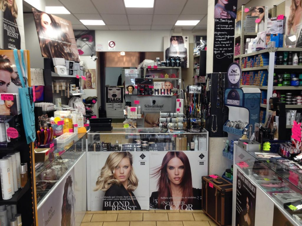 magasin coiffeur professionnel